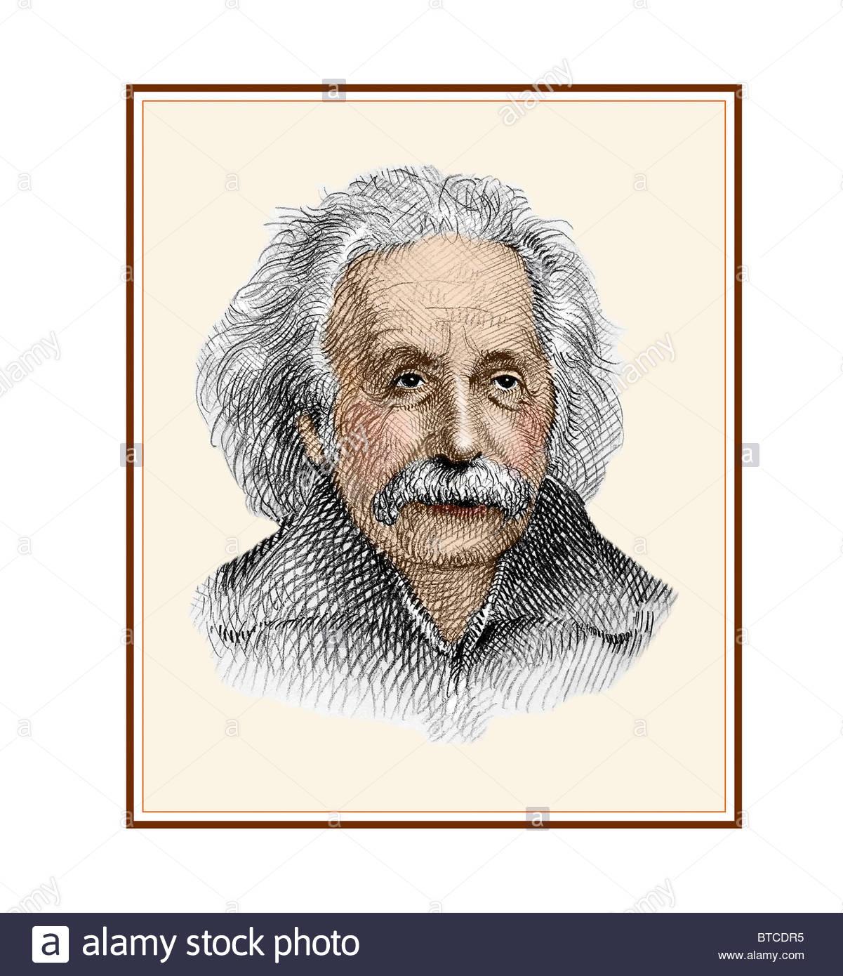 albert einstein 1879 1955 físico matemático alemão moderno desenho