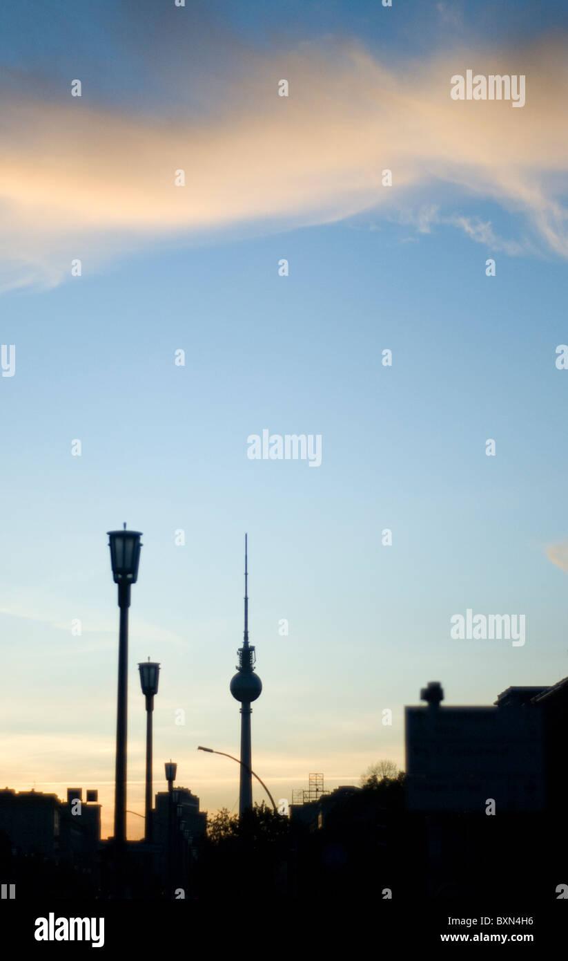 Berlin Alexanderplatz Imagens de Stock