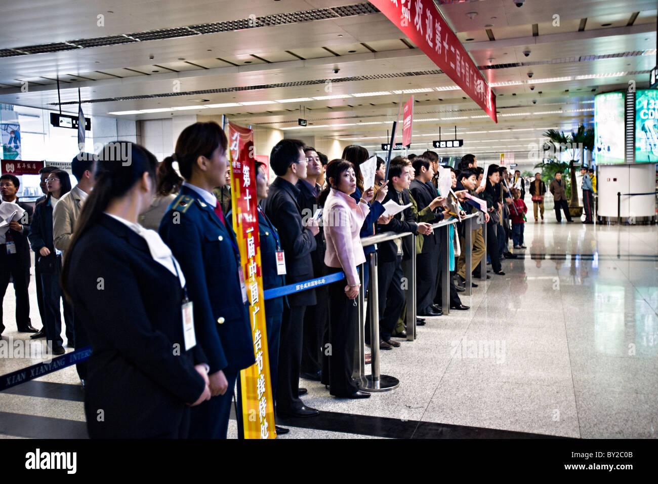 Xian Aeroporto : China xian xian xianyang aeroporto internacional com o povo