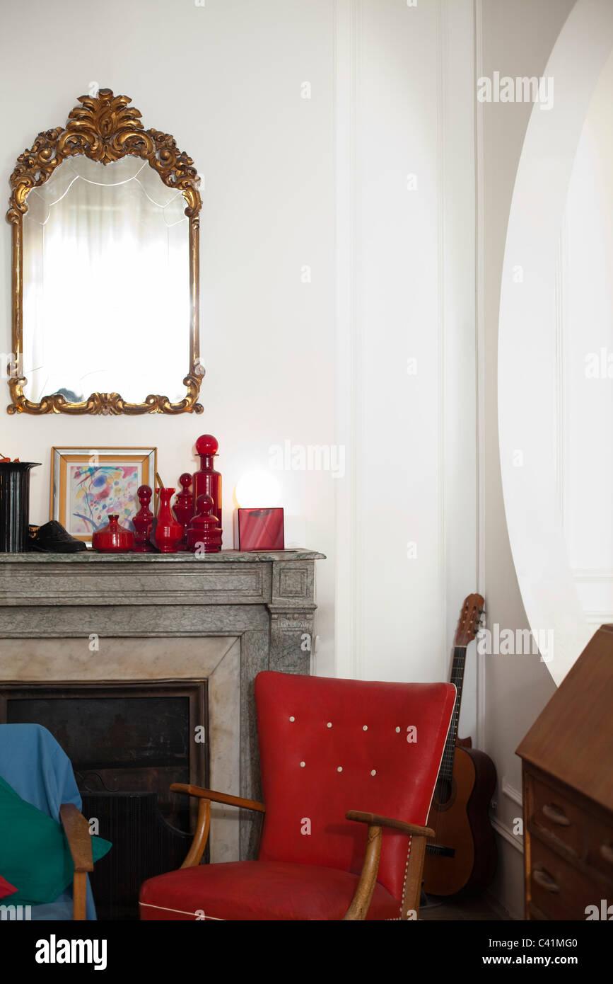Casa interior Imagens de Stock