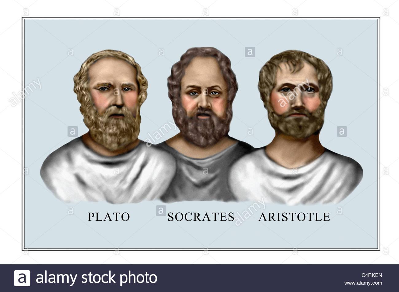 Aristotle Plato Socrates Classical Greek Philosophers