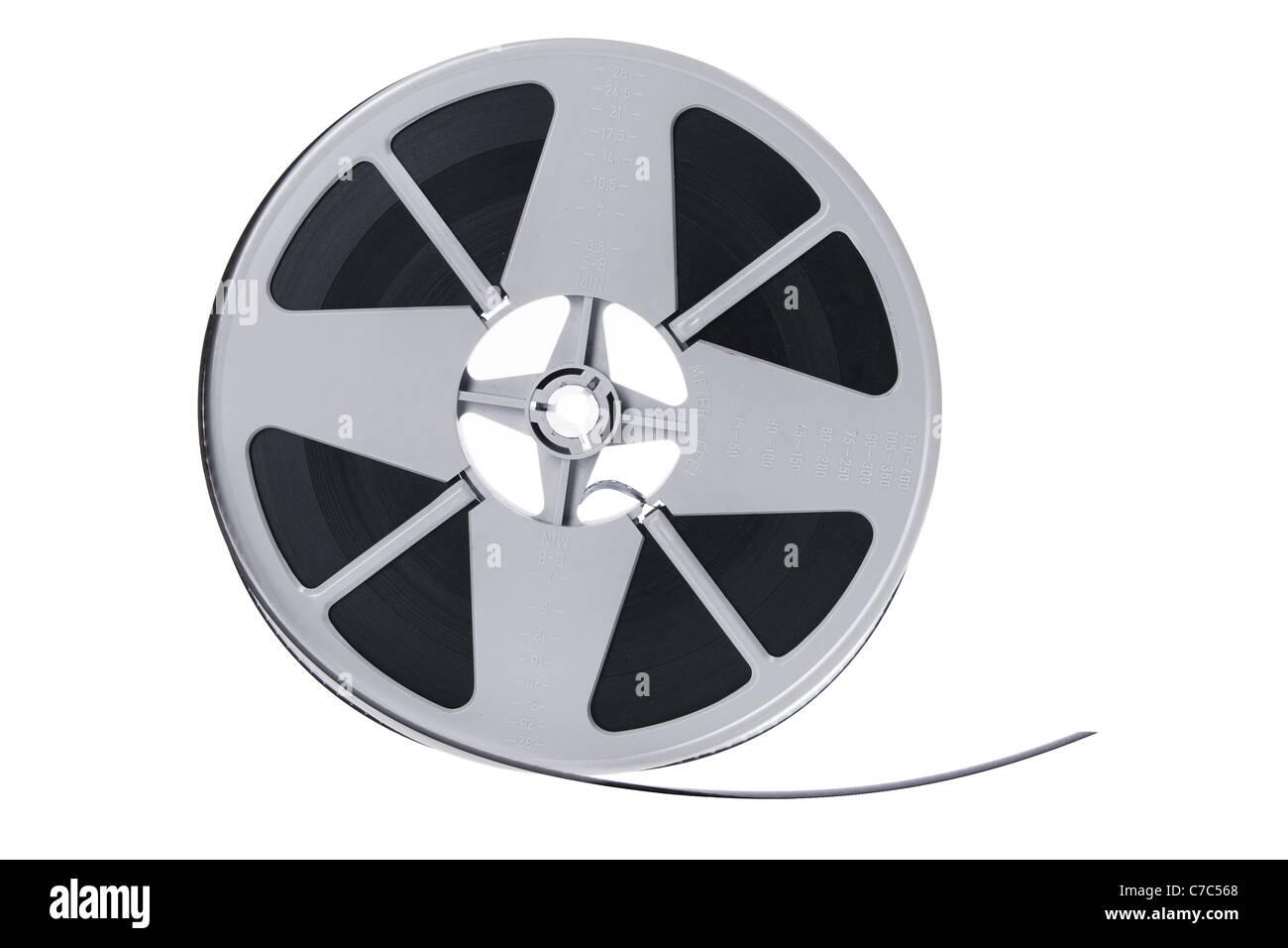 Carretel de filme de cinema Imagens de Stock