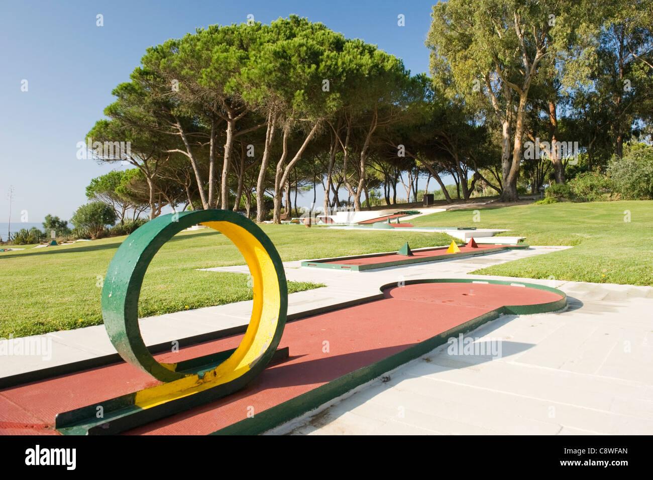 Circuito Algarve : Portugal algarve albufeira club med da balaia mini campo