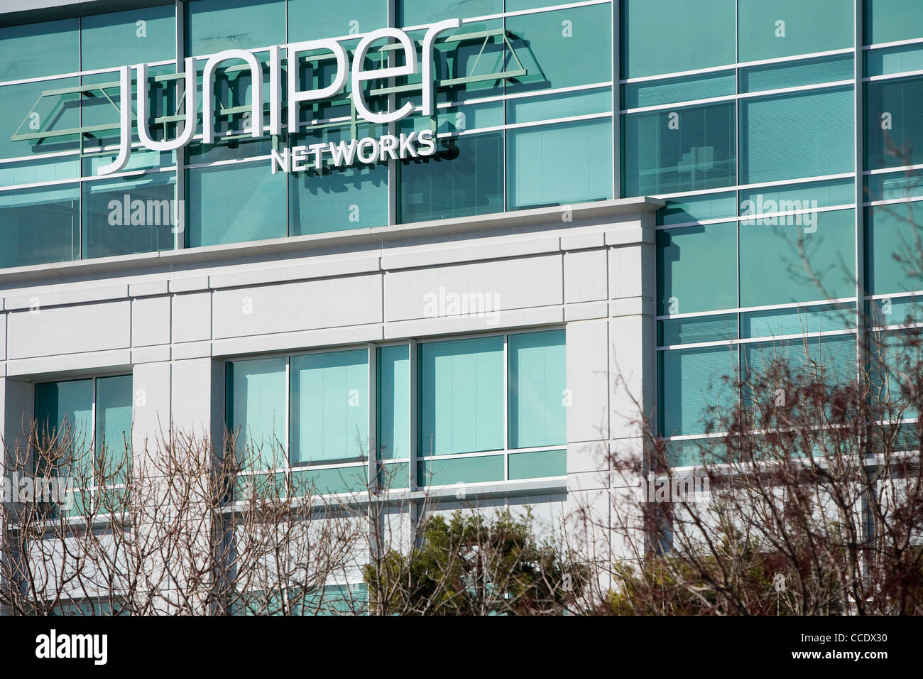 The headquarters of Juniper Networks Stock Photo: 42102452 - Alamy