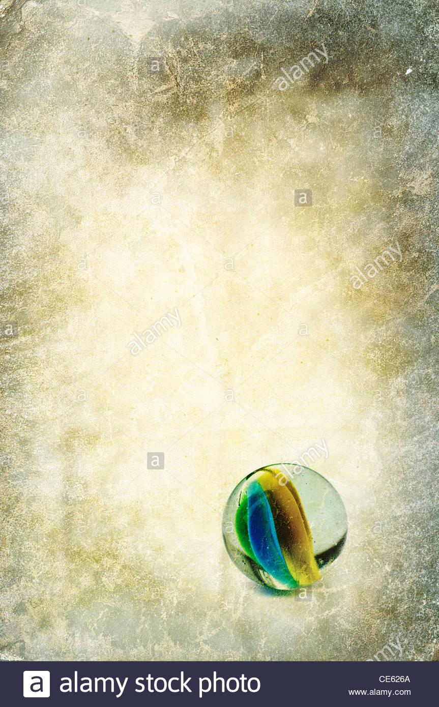 mármore de vidro Imagens de Stock