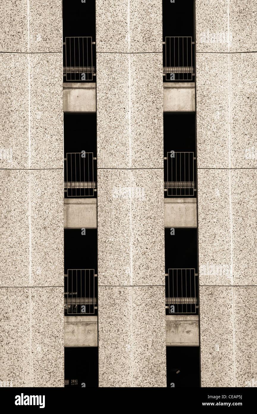 Parque de estacionamento Imagens de Stock
