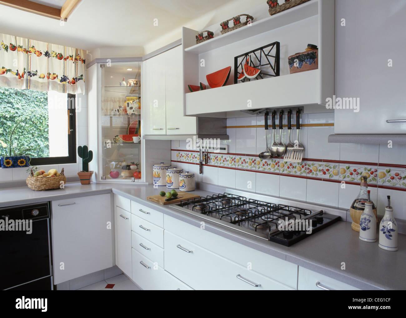 Azulejo Mosaico Para Cozinha Linda Cor Misturada De Vidro Quadrado