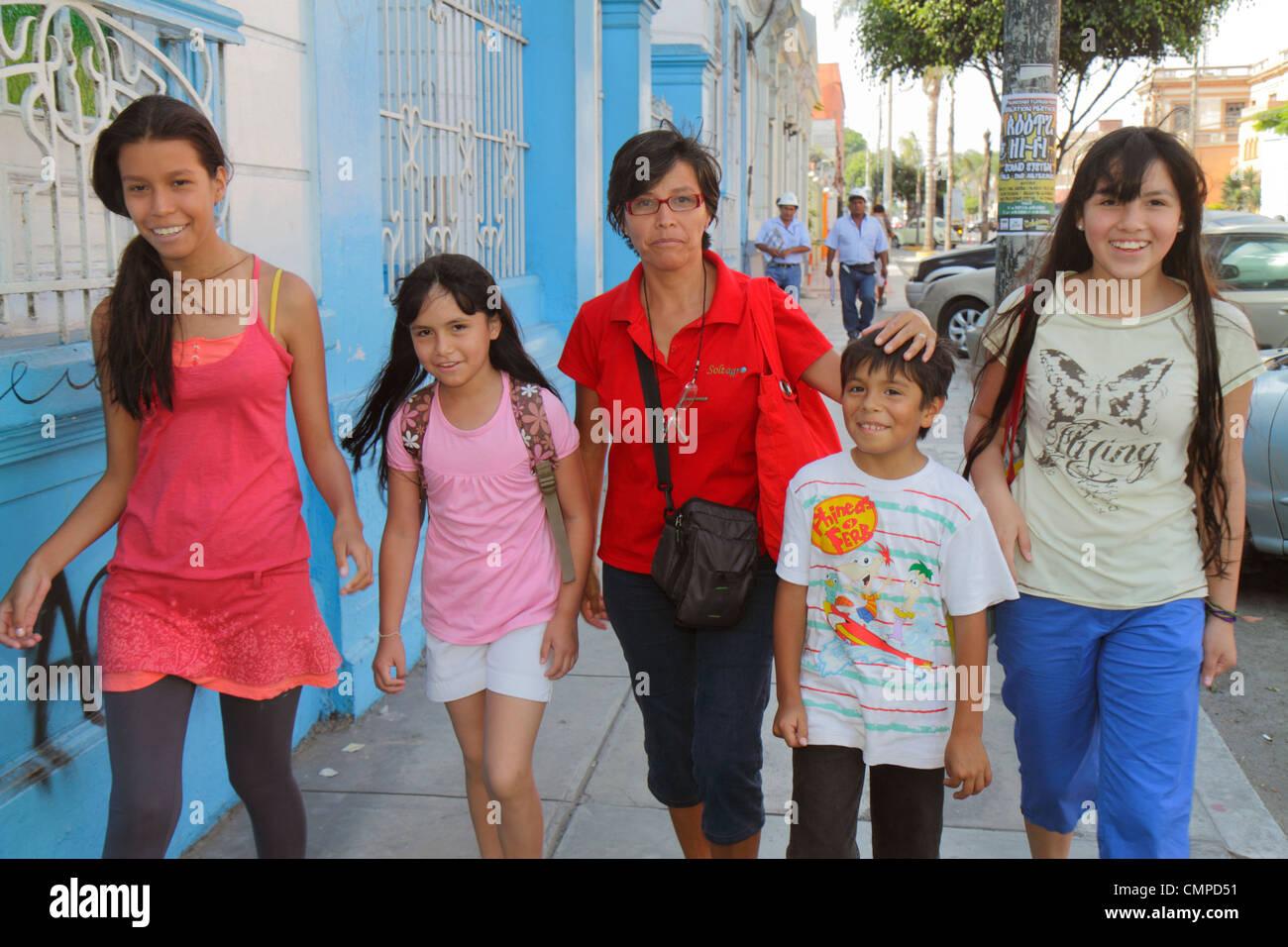 Lima peru girls