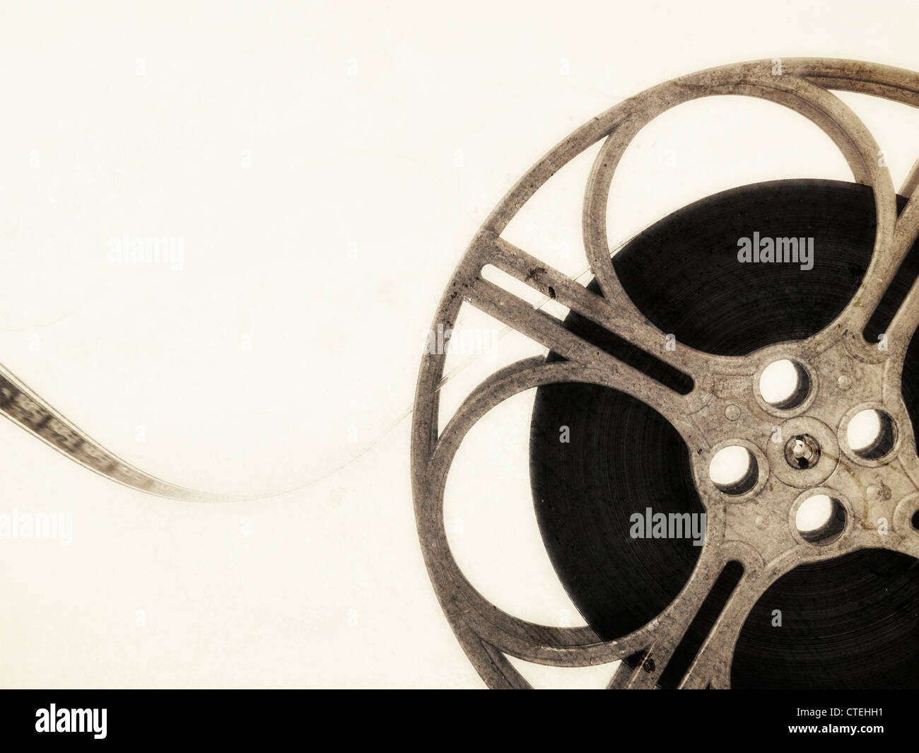 Bobina de filme Imagens de Stock
