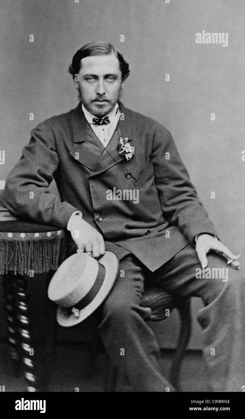 Alfred, Duke of Saxe-Coburg an...