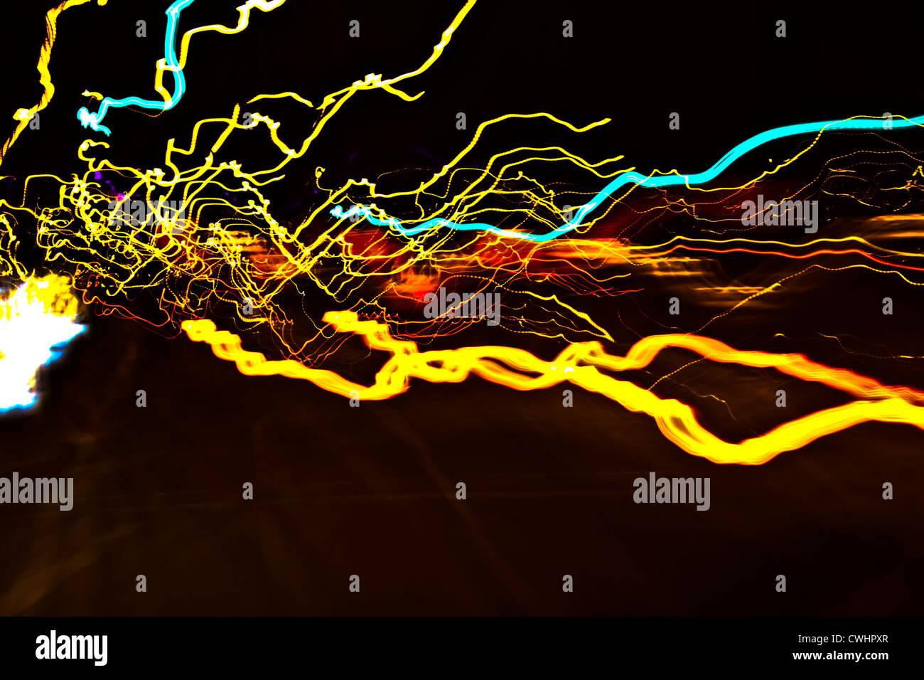 Lâmpadas,resumo,iluminação via Imagens de Stock
