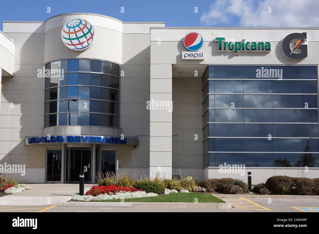 Pepsico Beverages, headquarters, Mississauga, Ontario