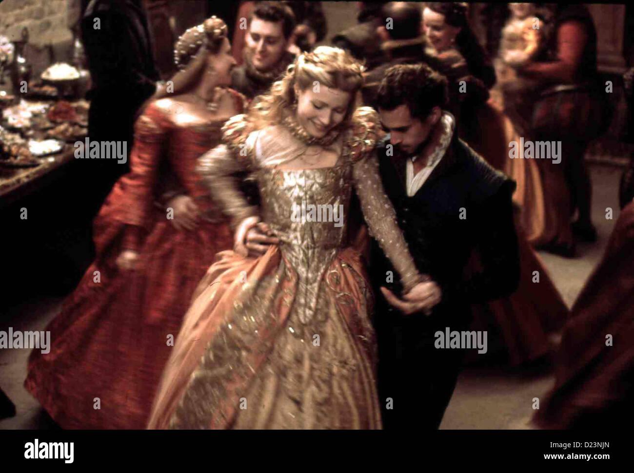Shakespeare no amor Shakespeare no amor Viola De Lesseps (Gwyneth Paltrow), Shakespeare (Joseph Fiennes) *** Local Imagens de Stock