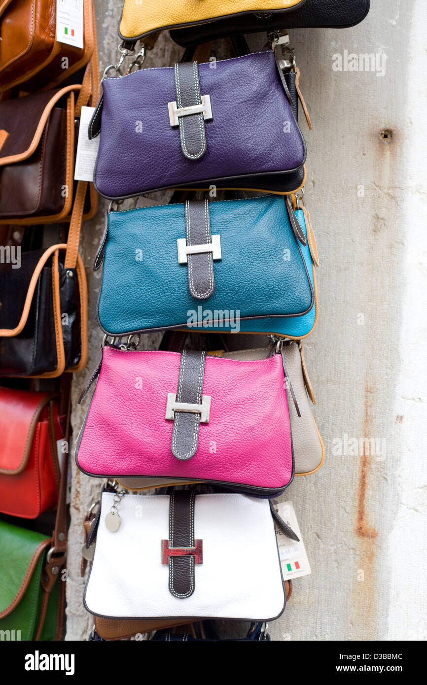 f5d71042 Leather handbags on sale Stock Photo: 53725740 - Alamy