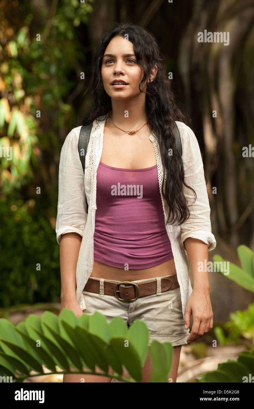 VANESSA HUDGENS JOURNEY 2: THE MYSTERIOUS ISLAND (2012 Stock