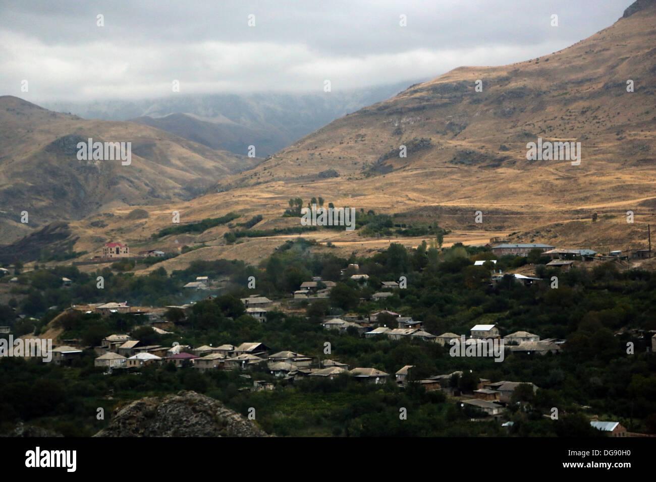 Nagorno Karabakh, paisagens Imagens de Stock