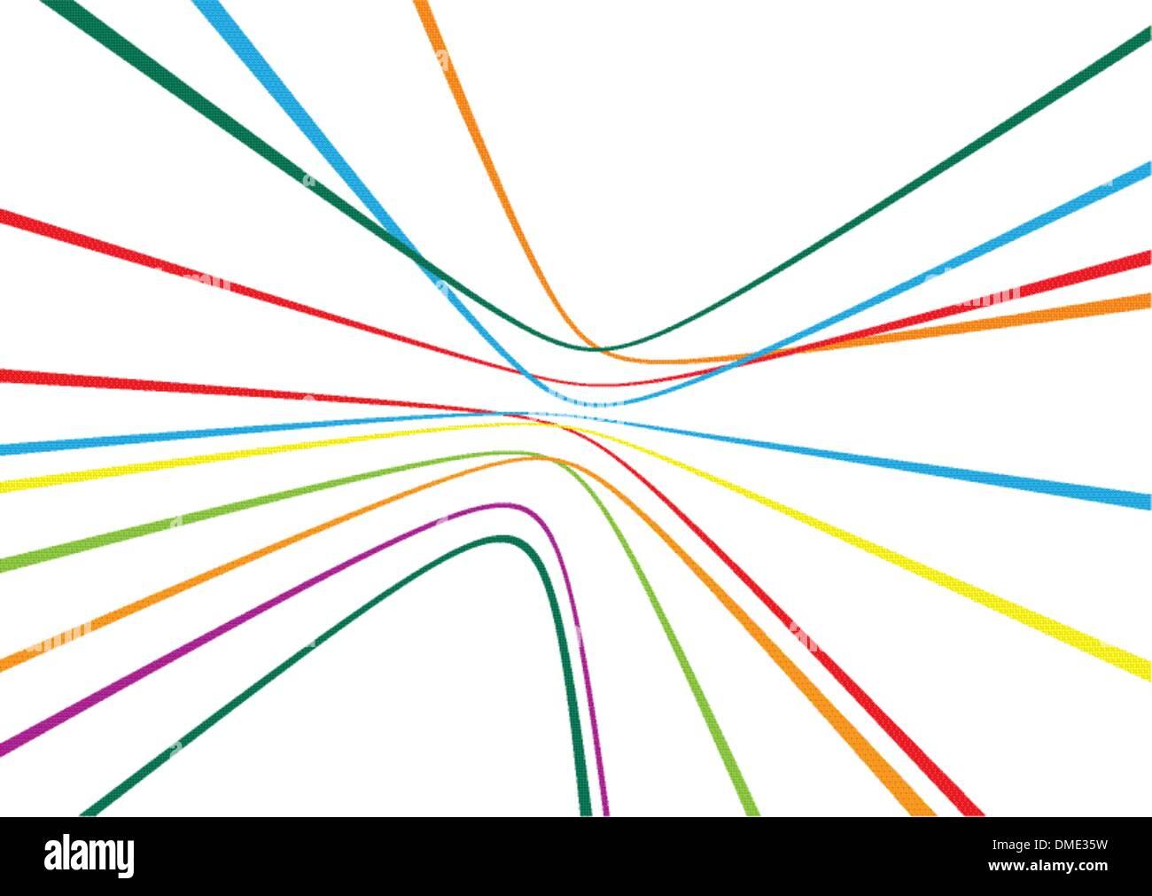 Linhas abstrata Imagens de Stock