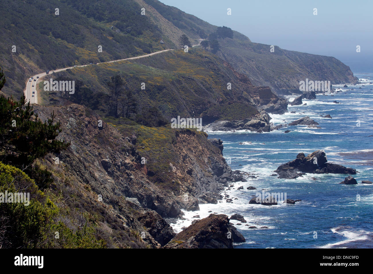 Northern California Coastline and the Pacific Coast Highway PCH