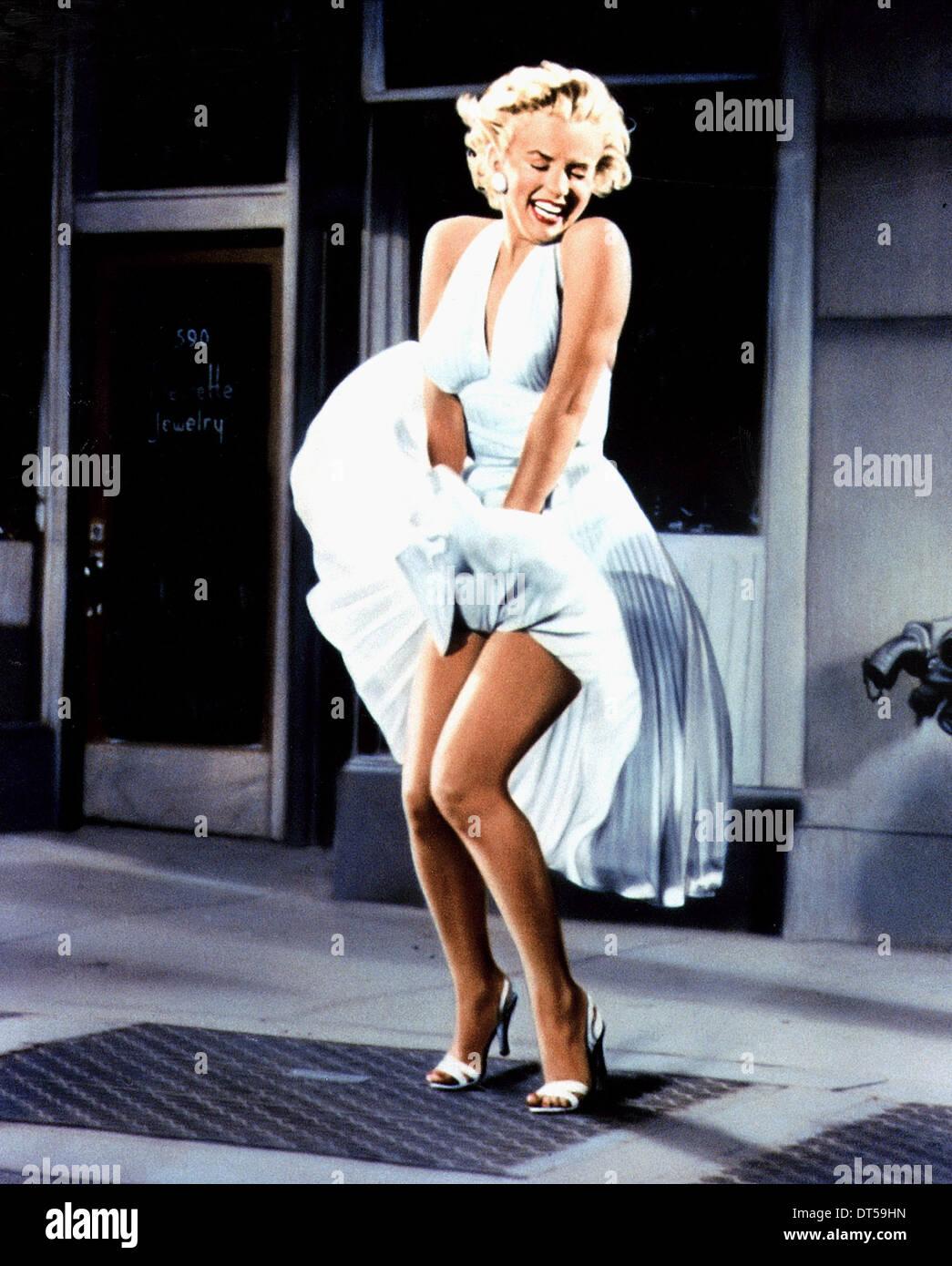 A Marilyn Monroe a sete anos itch (1955) Imagens de Stock