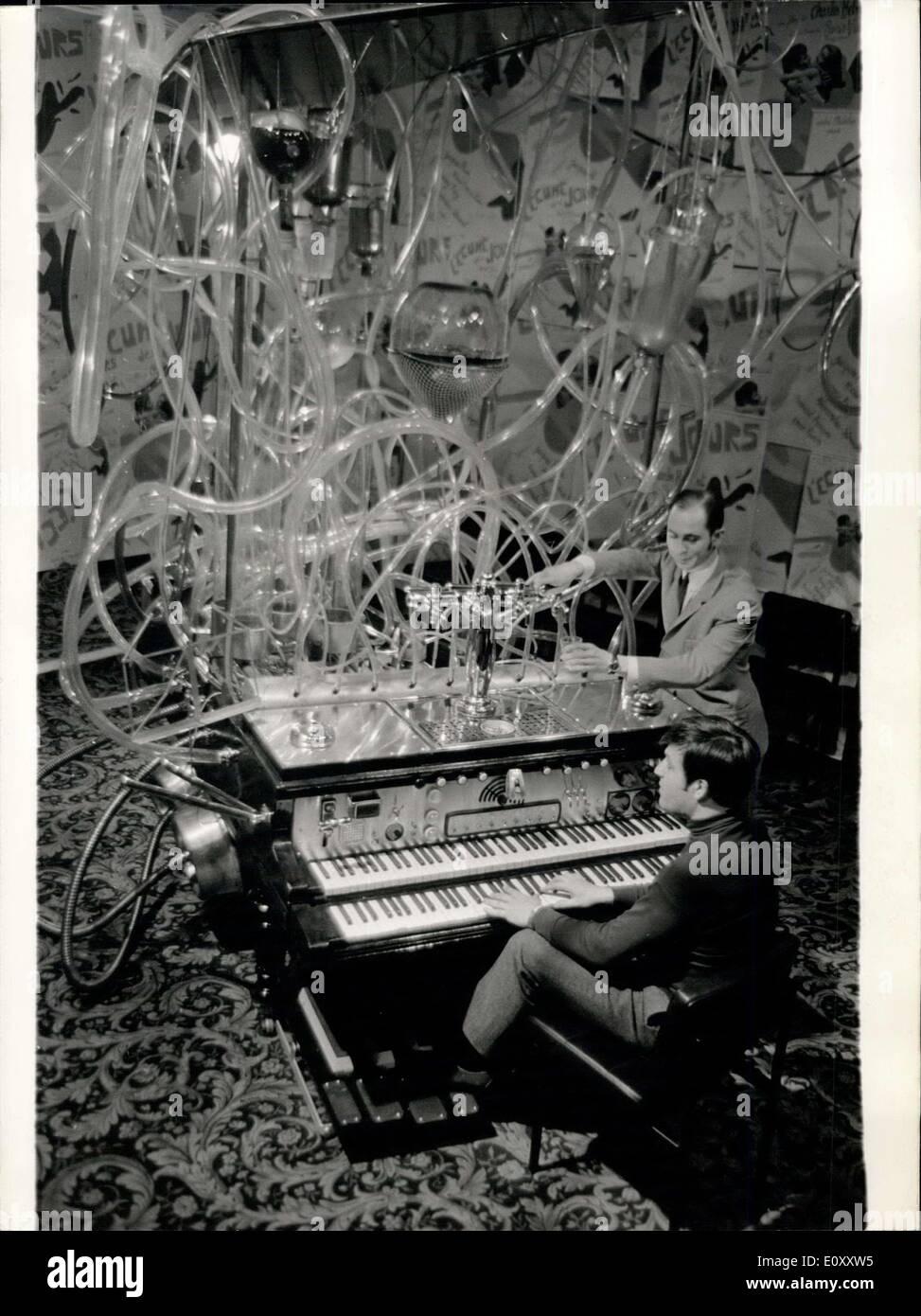 Mar  20, 1968 - Piano Cocktail' for Boris Vian's film: On