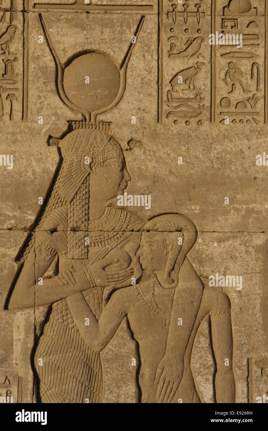 egito dendera complexo do templo nascimento casa de mammisi