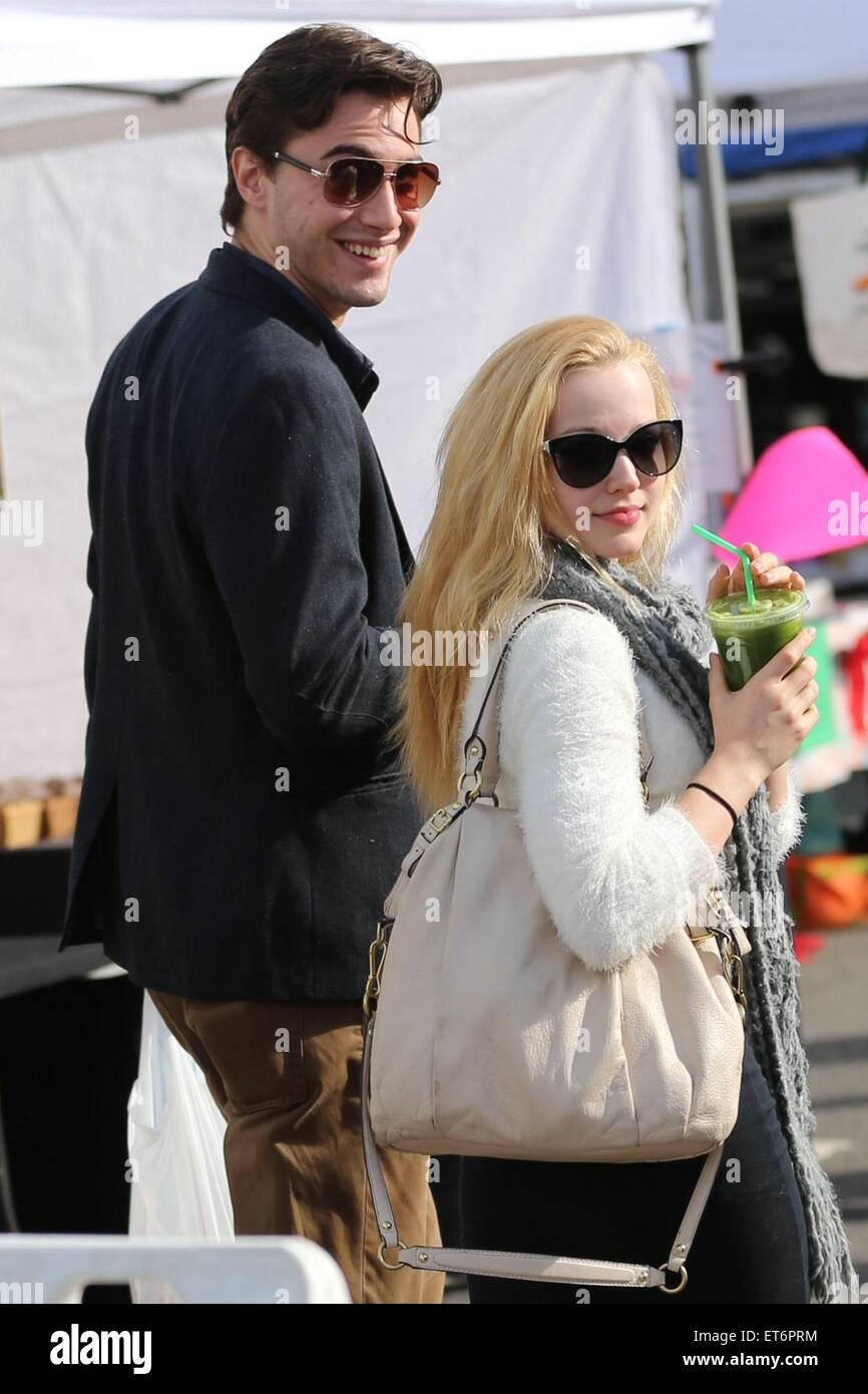 Dove Cameron And Her Boyfriend Ryan Mccartan Visit The Farmers