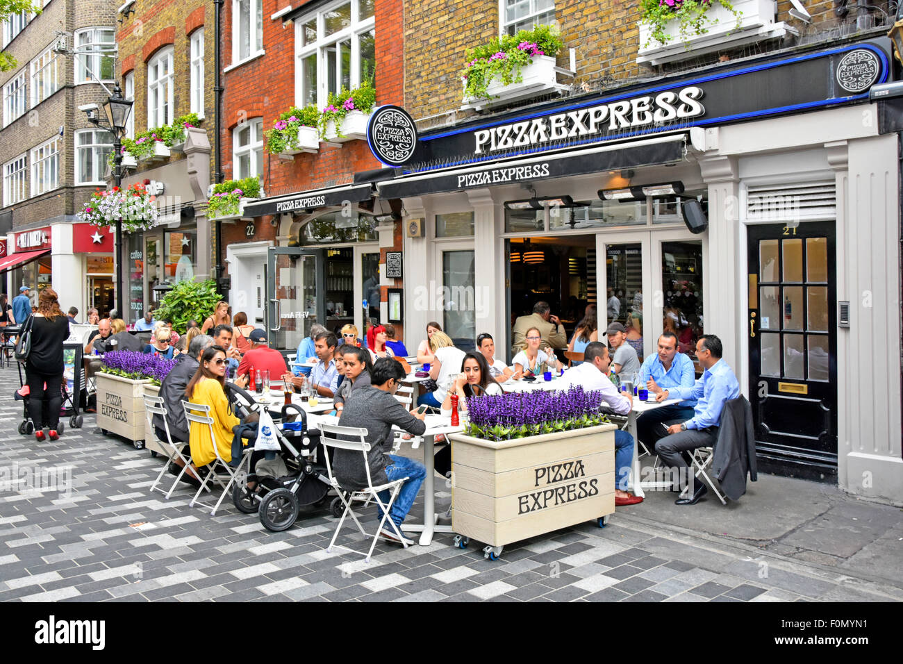 Pizza express bond street