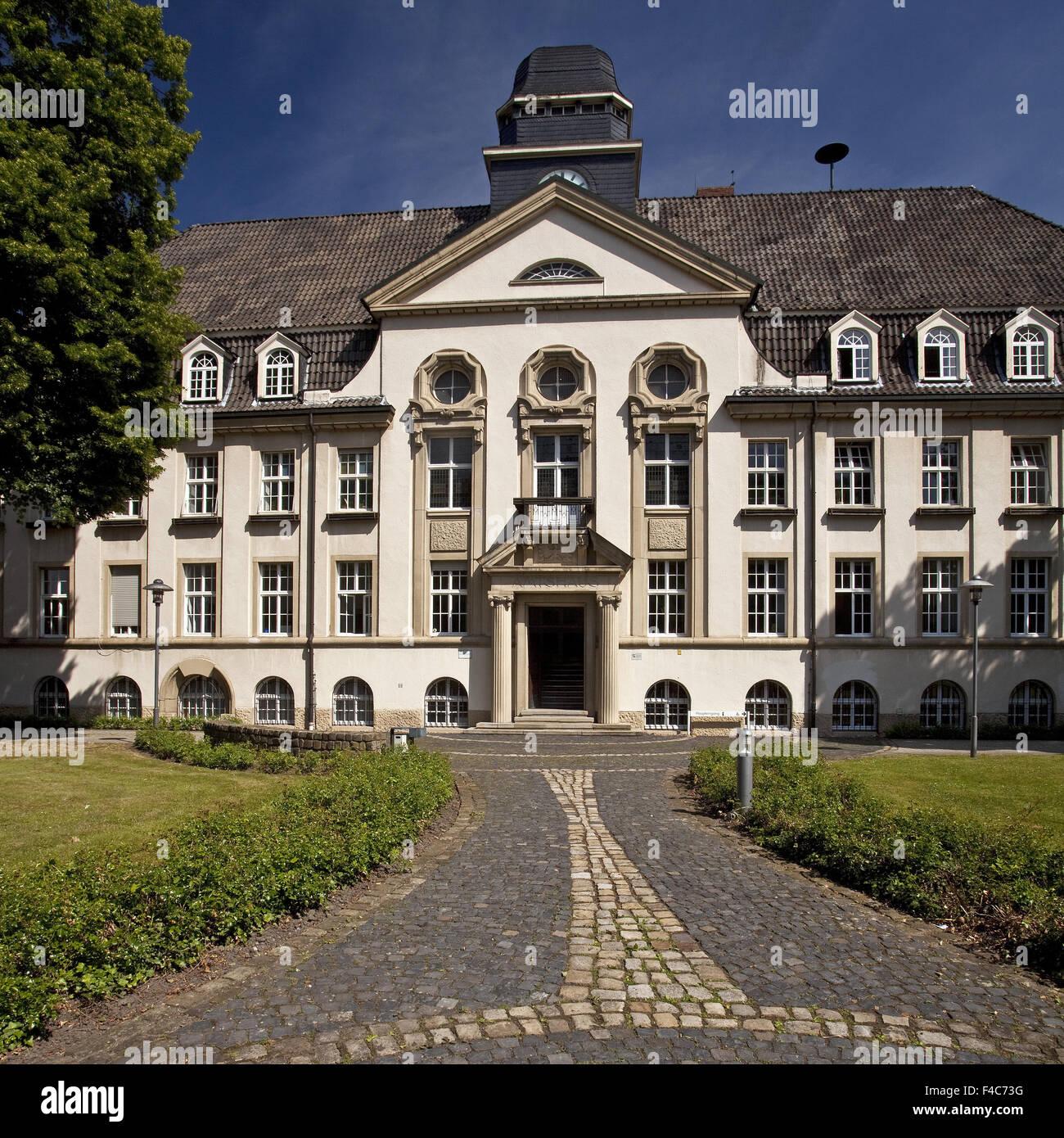 Casa oficial, Selm, Alemanha Imagens de Stock