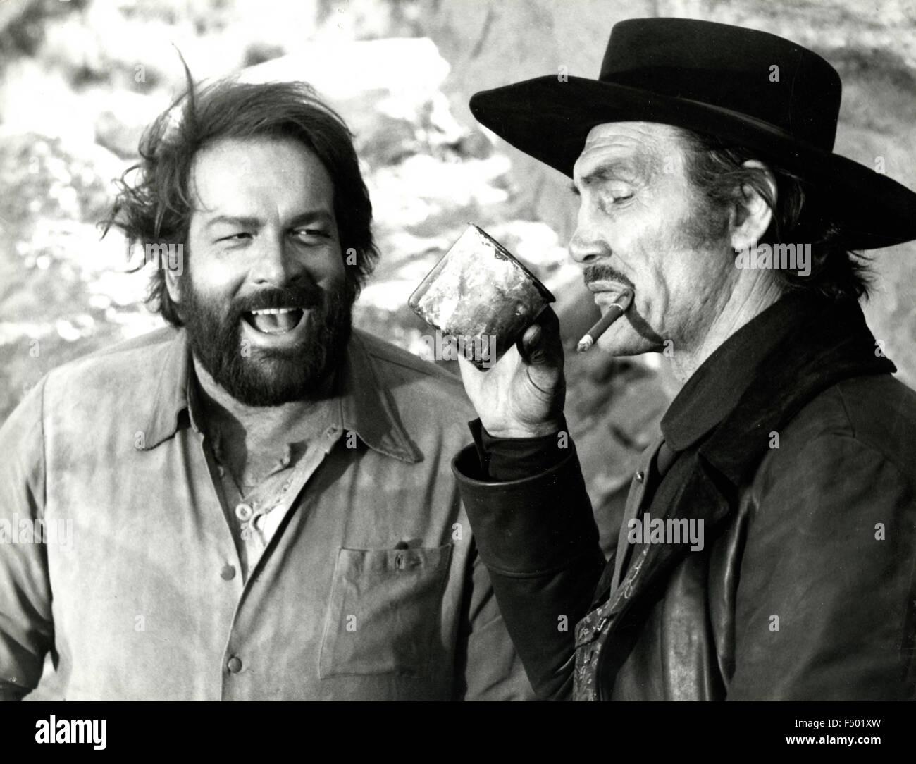"""Jack Palance Filmes Best os actores bud spencer e jack palance em uma cena do filme """"você"""
