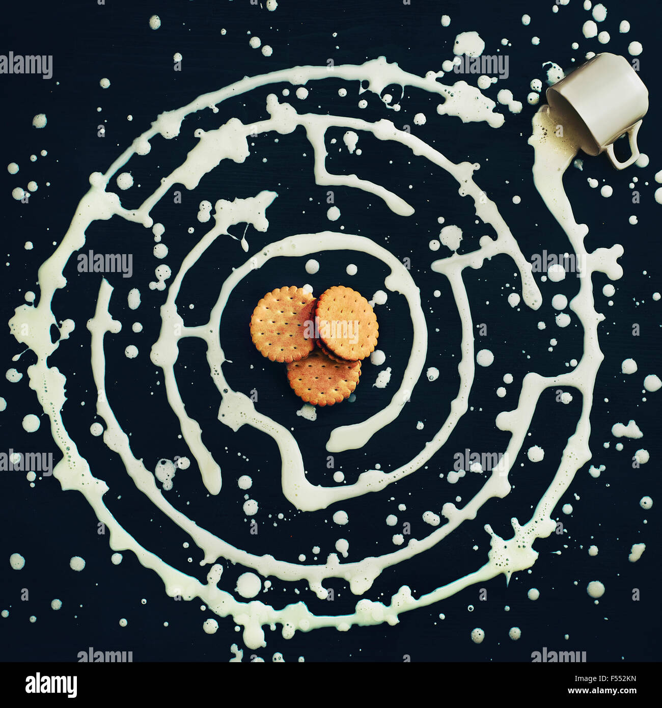 Os cookies para o Minotauro Imagens de Stock