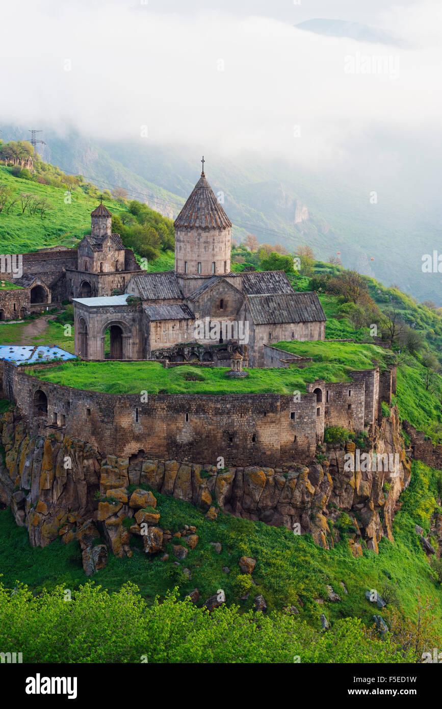 Mosteiro Tatev, Província Syunik, Arménia, do Cáucaso, da Ásia Central e Ásia Imagens de Stock