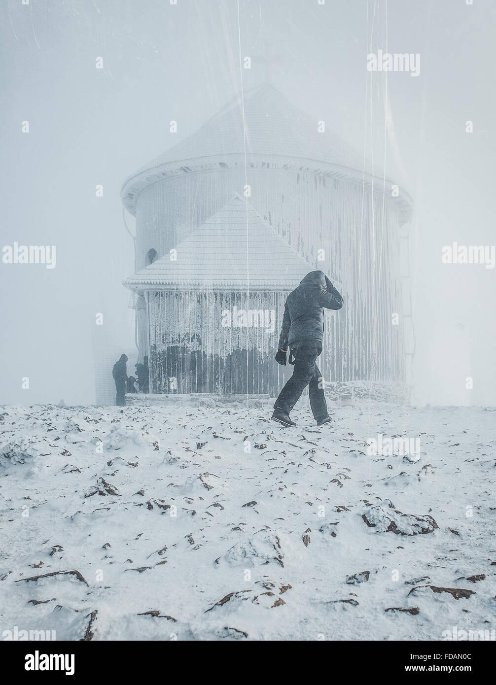 País das Maravilhas de Inverno Imagens de Stock