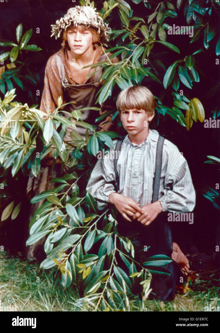 Com Huckleberry Finn e seus amigos, aka: Die Abenteuer von Tom Sawyer und com Huckleberry Finn, Fernsehserie, EUA Imagens de Stock