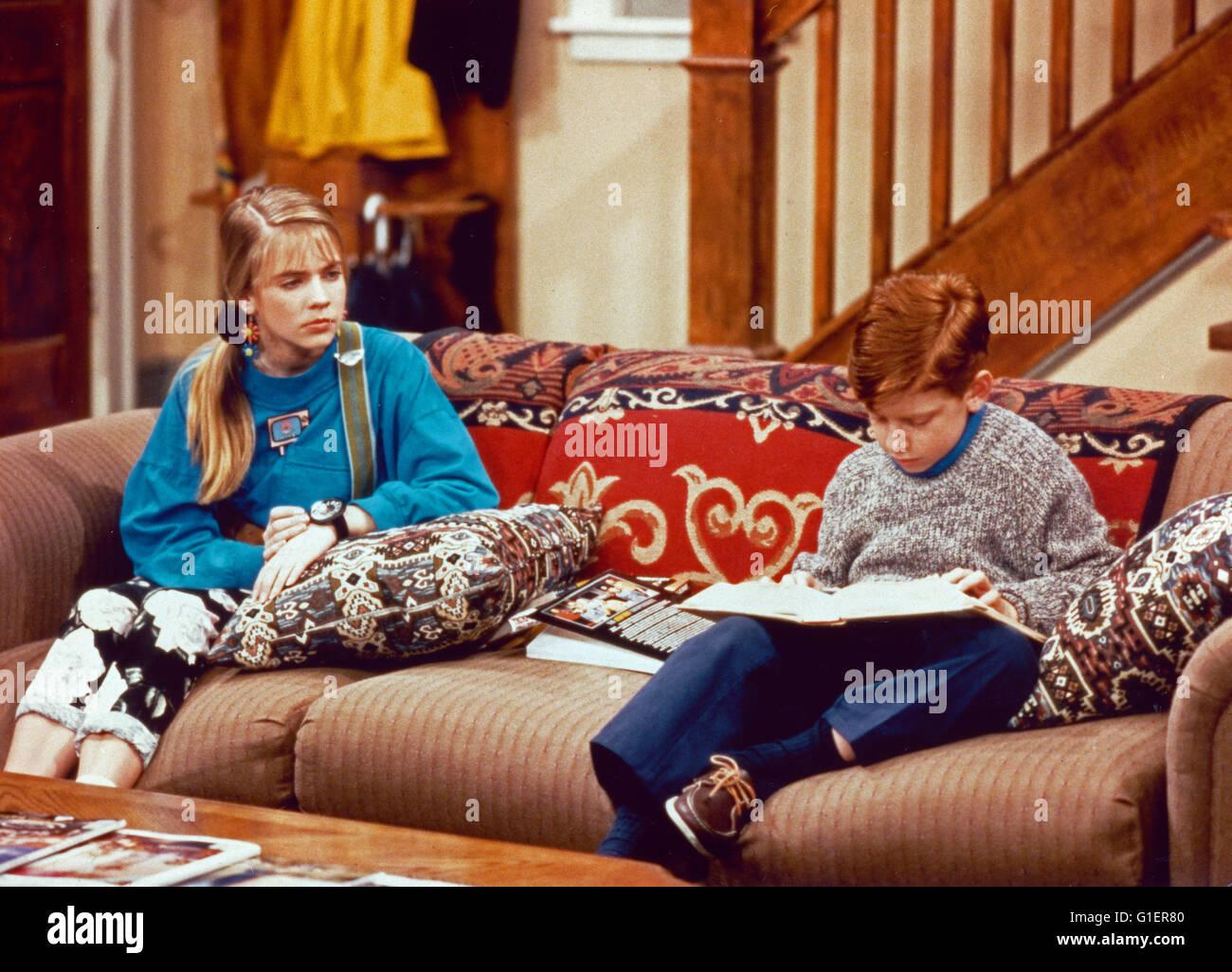 Clarissa explica tudo, aka: Clarissa, Teenagerserie; EUA 1991 - 1994, Darsteller: Melissa Joan Hart, Jason Zimbler Imagens de Stock