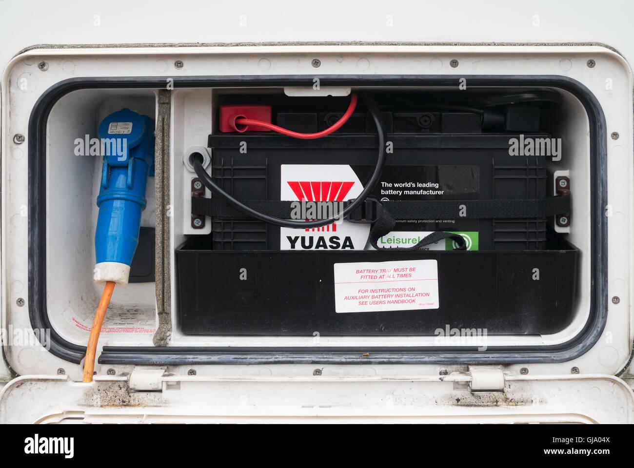 Caravan hook up power