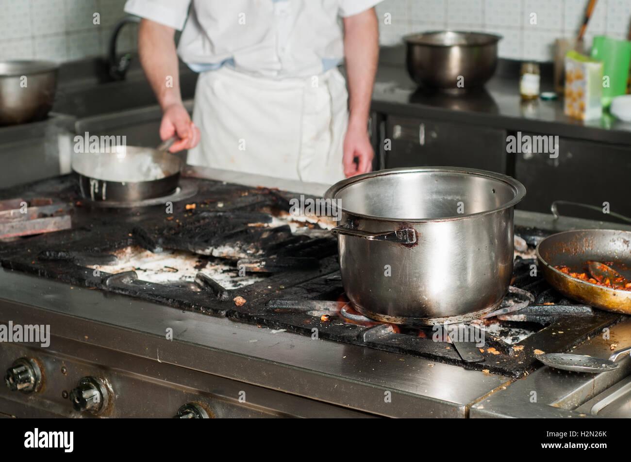 Real Dirty Restaurant Kitchen Fotos Real Dirty Restaurant Kitchen