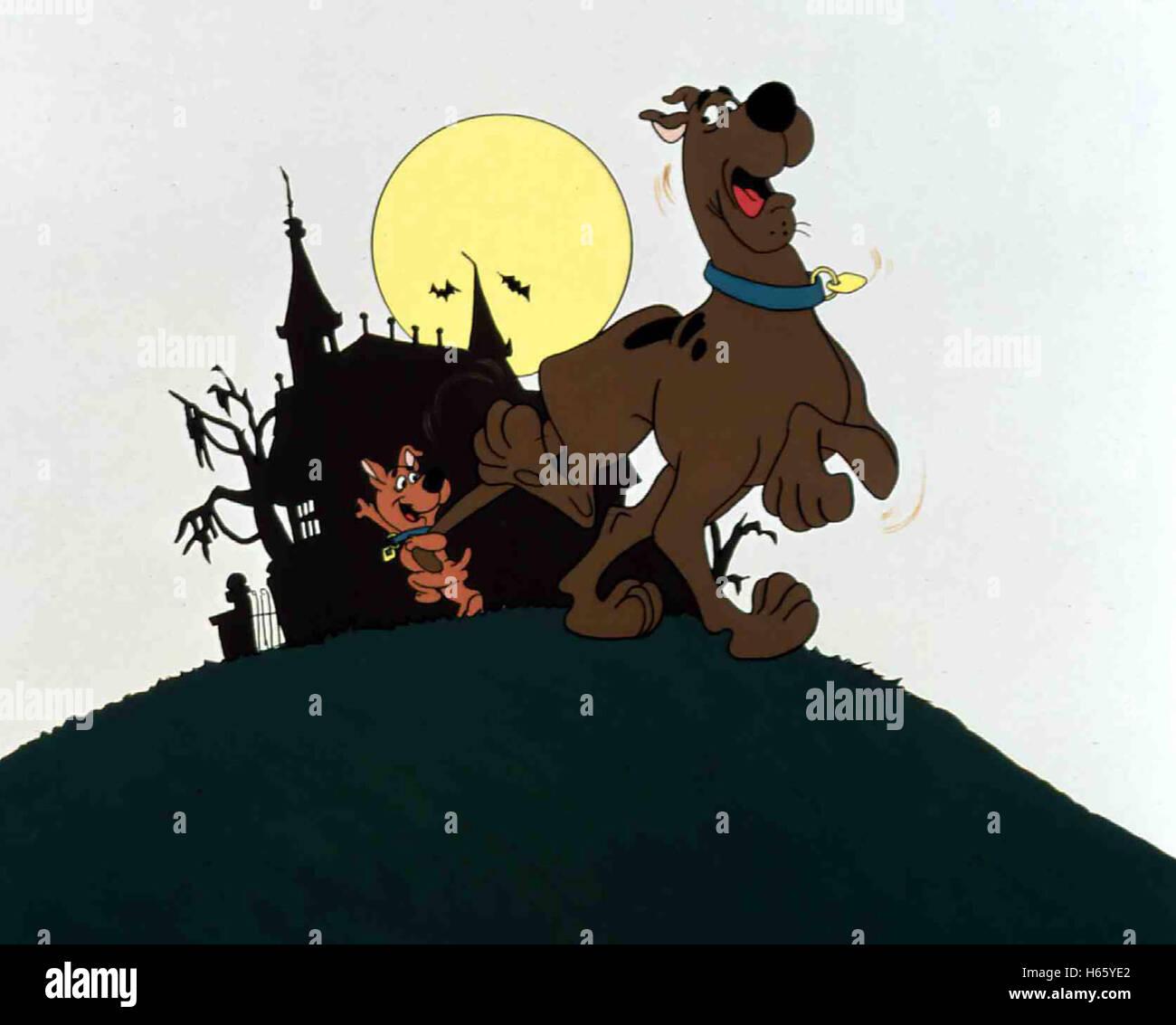 Scooby Doo, onde ? Zeichentrickserie, EUA 1969 - 1970 Imagens de Stock