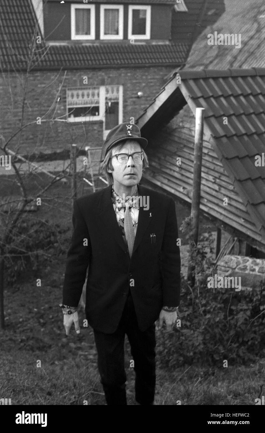 Neues aus Uhlenbusch, Kinderserie, Deutschland 1978, Regie: Gerard Samaan, Darsteller: Hans Peter Korff Imagens de Stock