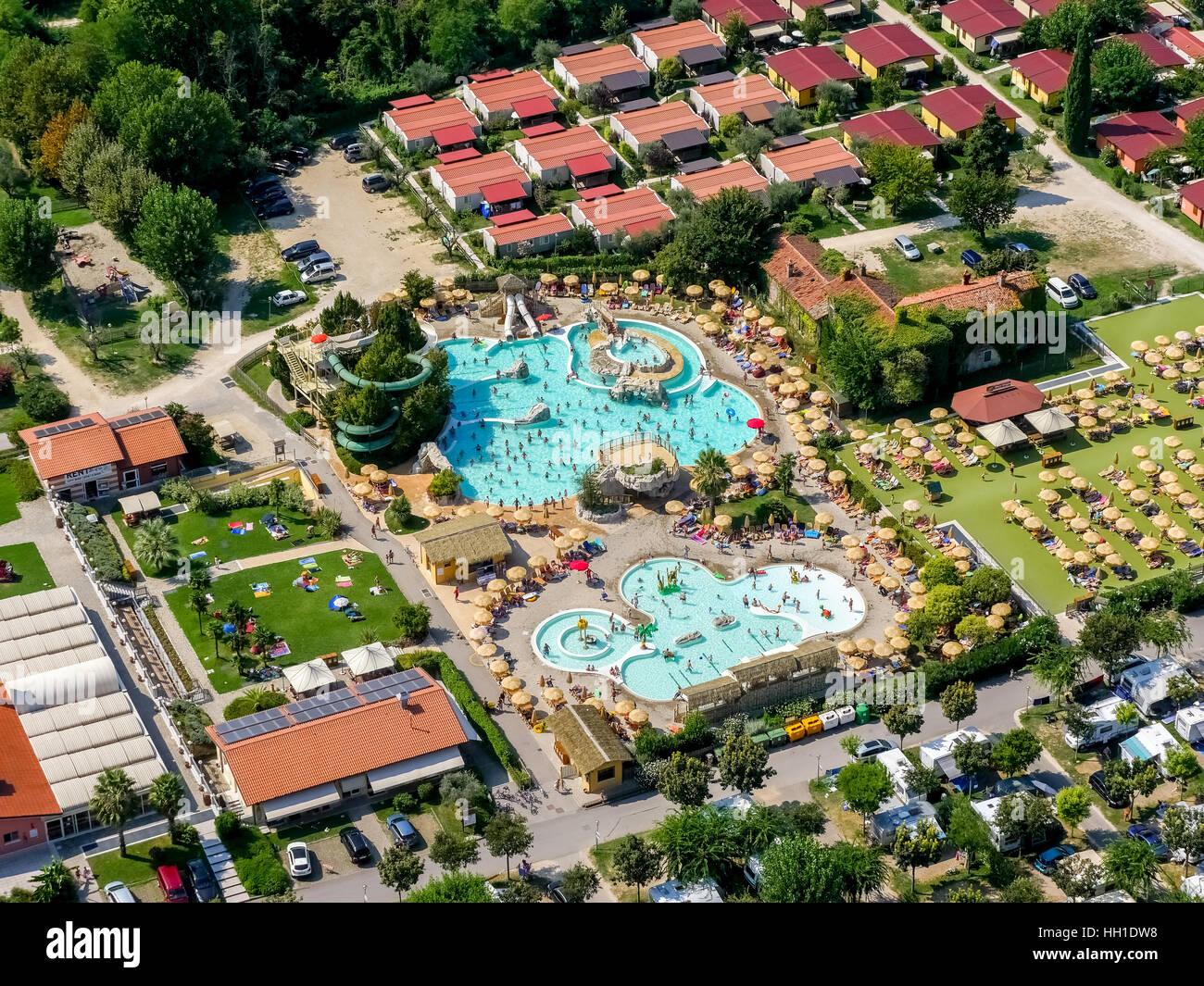 Vista a rea da piani di clodia camping parque de campismo for Piani di piscina