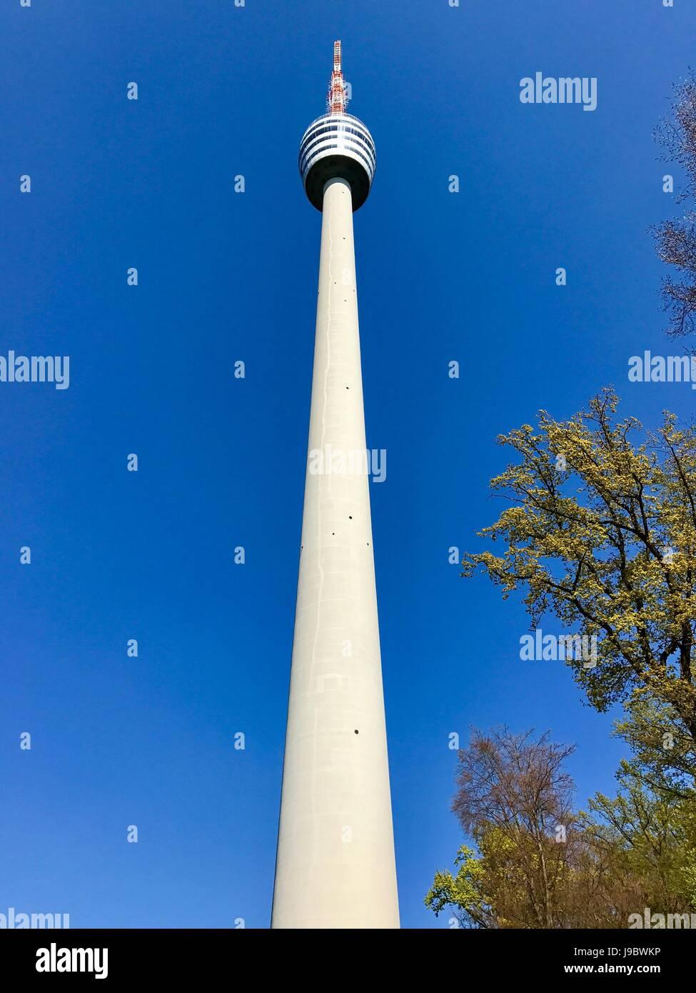 Torre de TV de Stuttgart Imagens de Stock