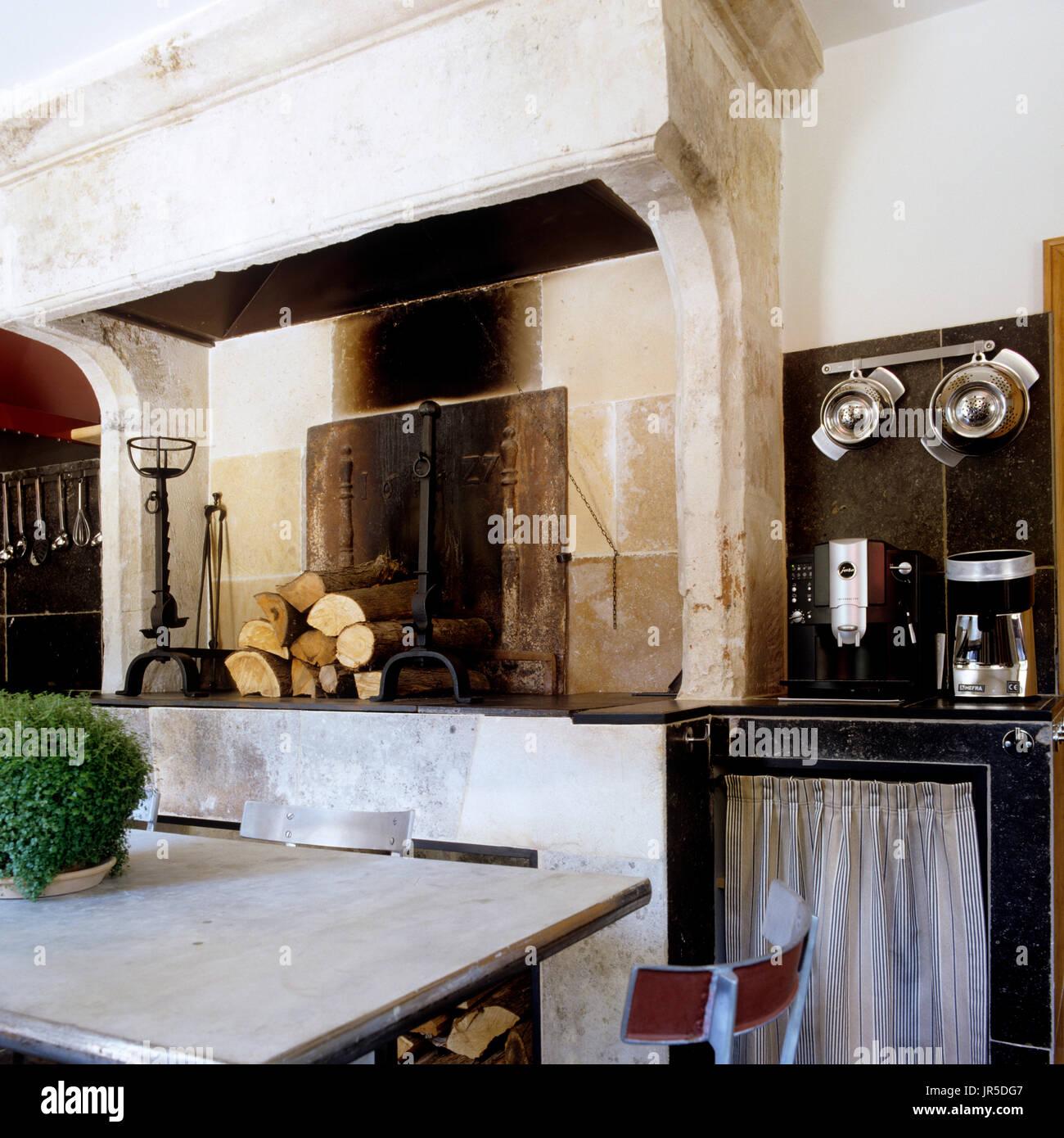 R Stico Estilo Industrial Cozinha E Sala De Jantar Foto Imagem De