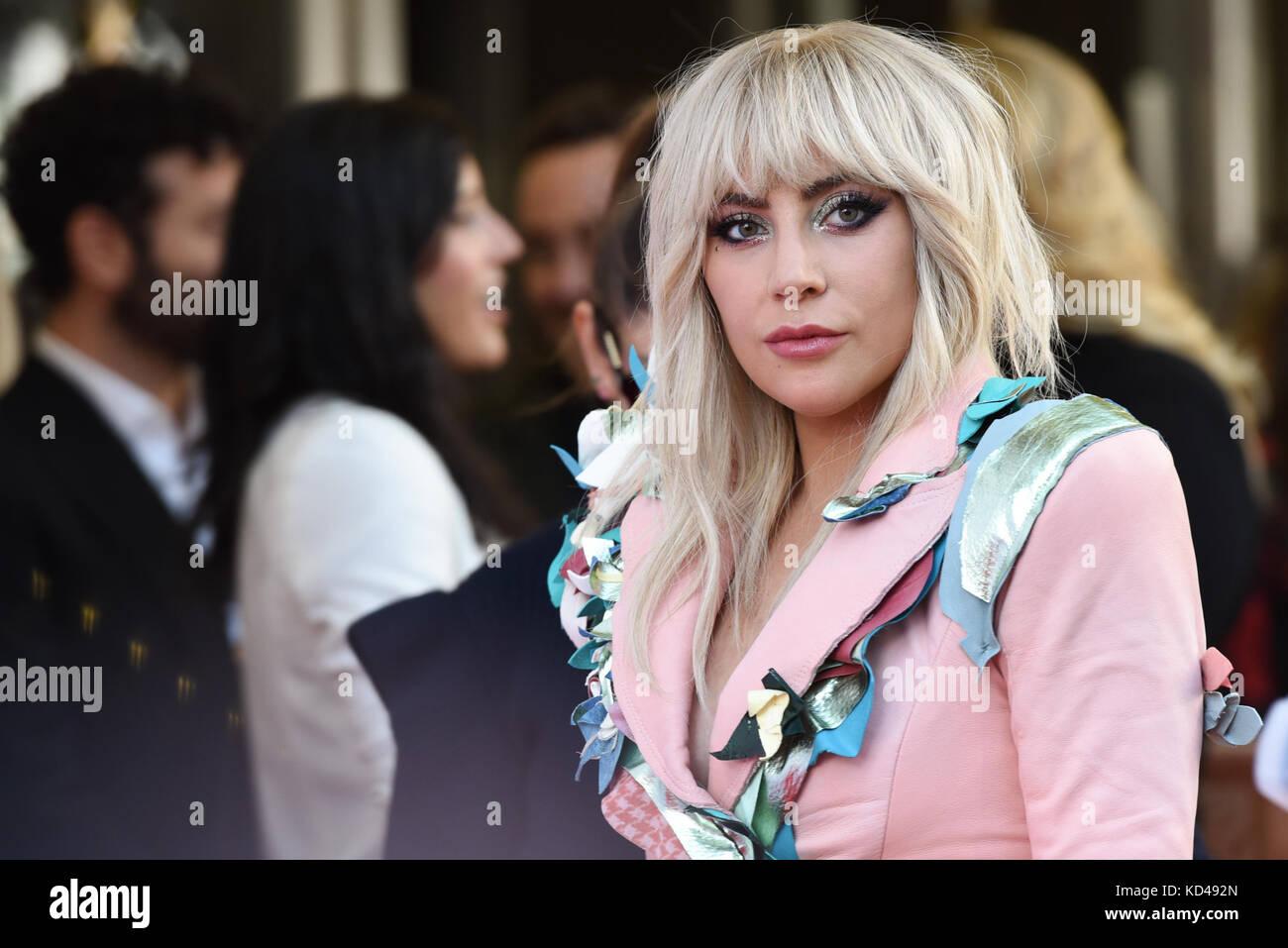 Xlii festival internacional de Cinema de Toronto - photocall Lady Gaga apresentando: Lady Gaga onde: toronto, Canadá Imagens de Stock