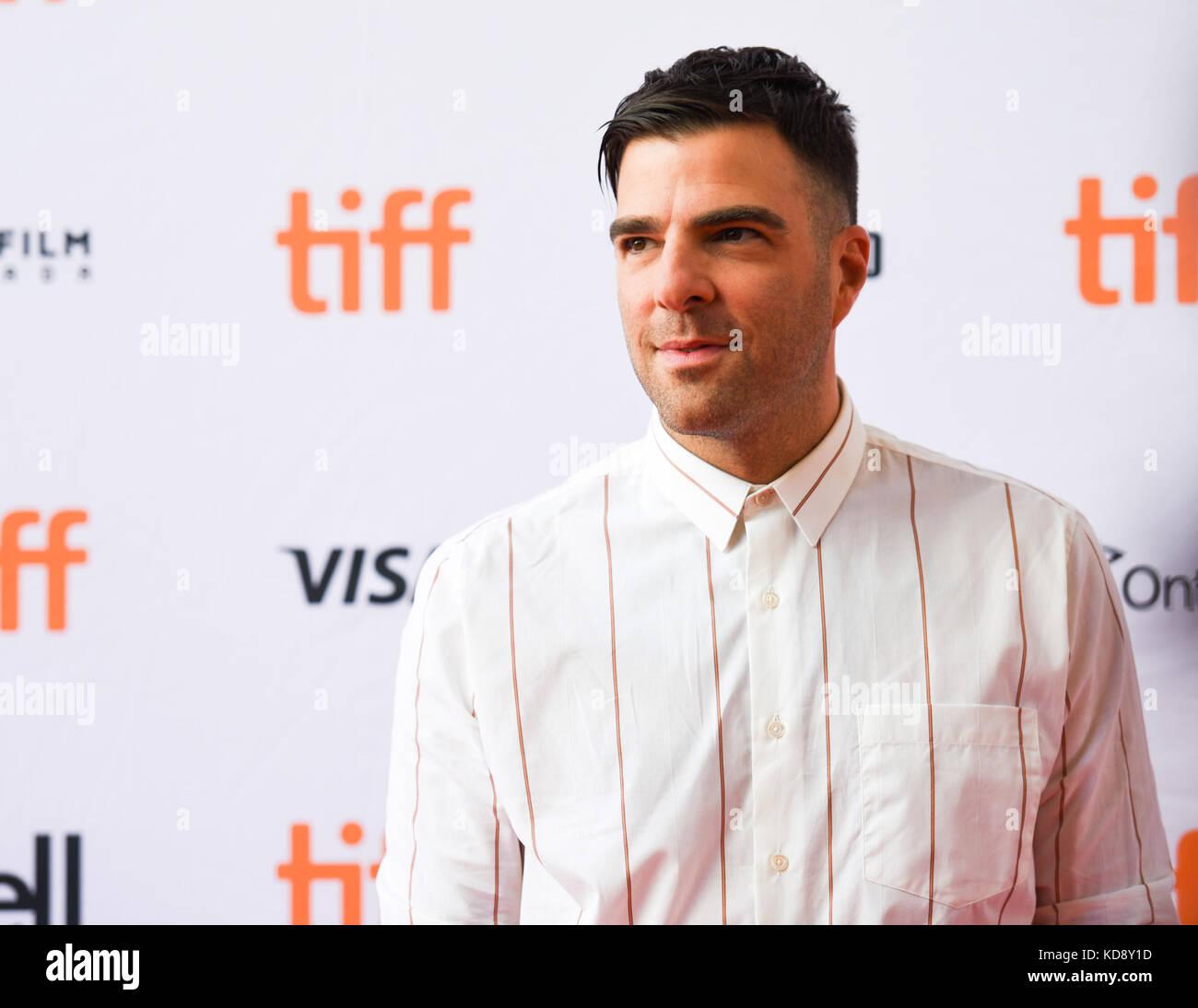 """42º Festival Internacional de Cinema de Toronto - """"Quem somos nós agora"""" - premiere com: zachary Imagens de Stock"""