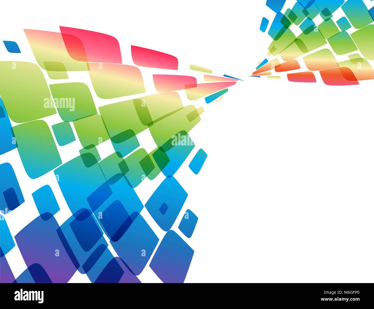 Colorful Abstract Background Vector Template Stock Vector