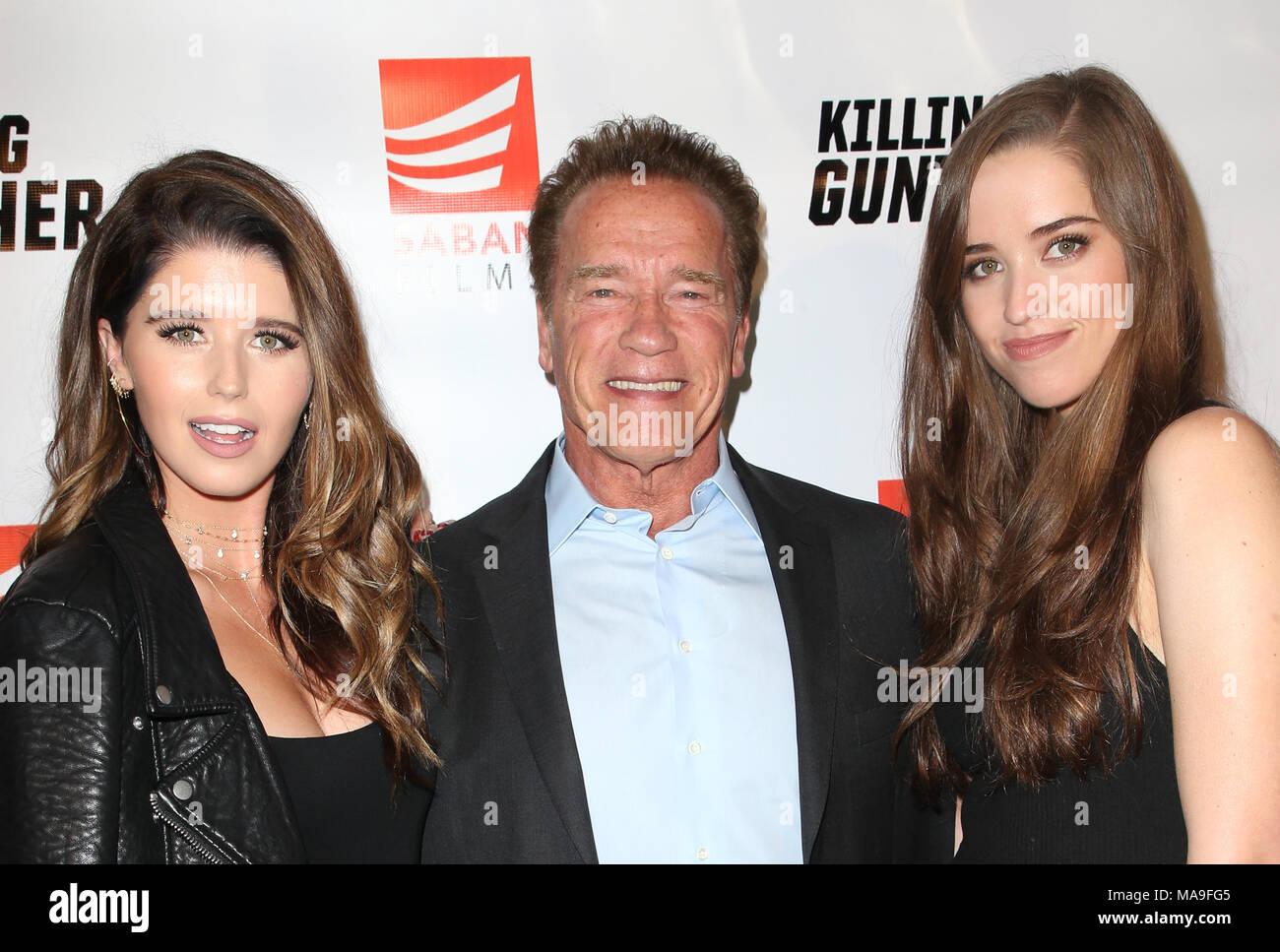 Hollywood, Ca  14th Oct, 2018  Katherine Schwarzenegger, Arnold
