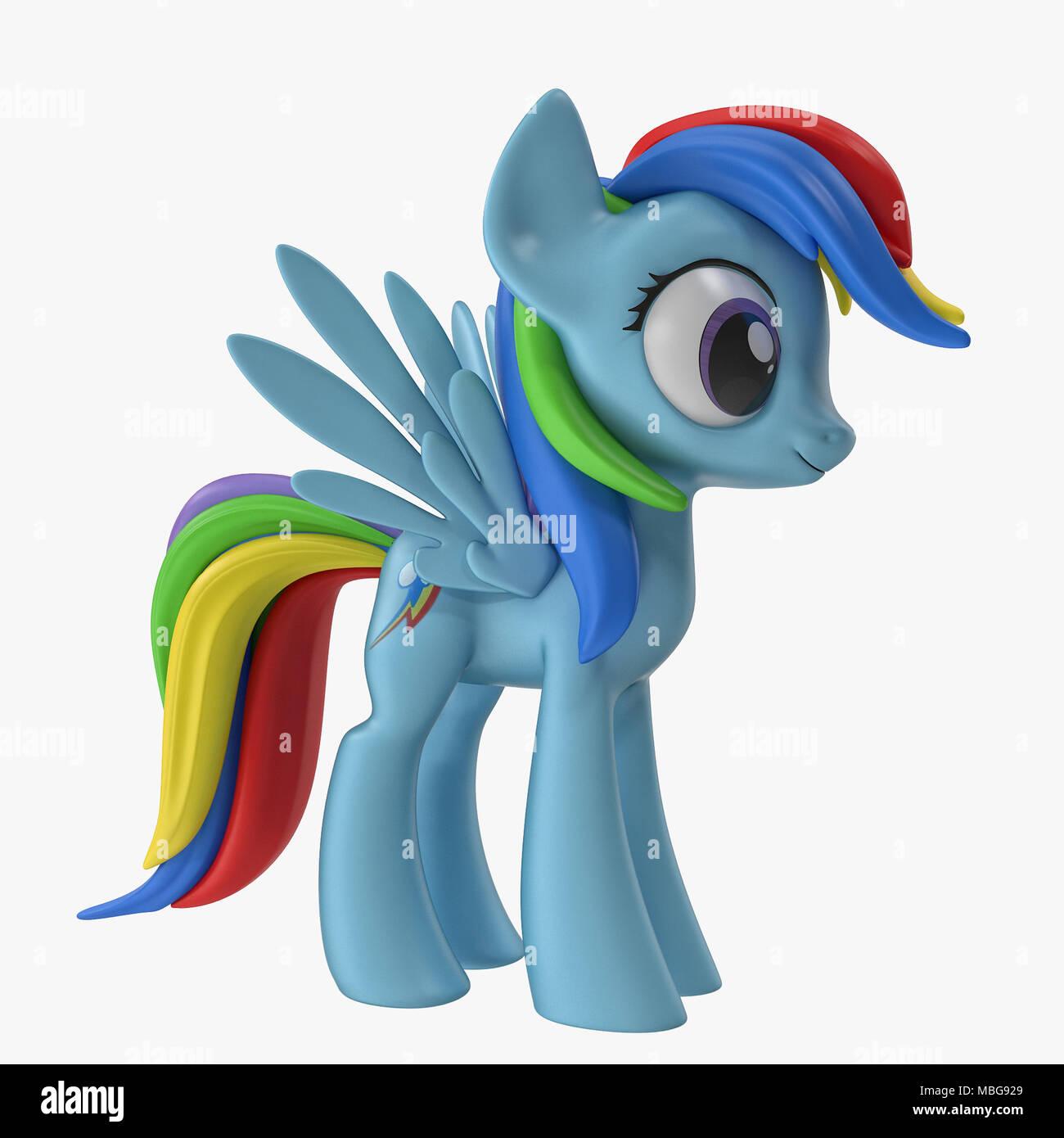 Cartoon horse 3D models  My little pony 3D models for