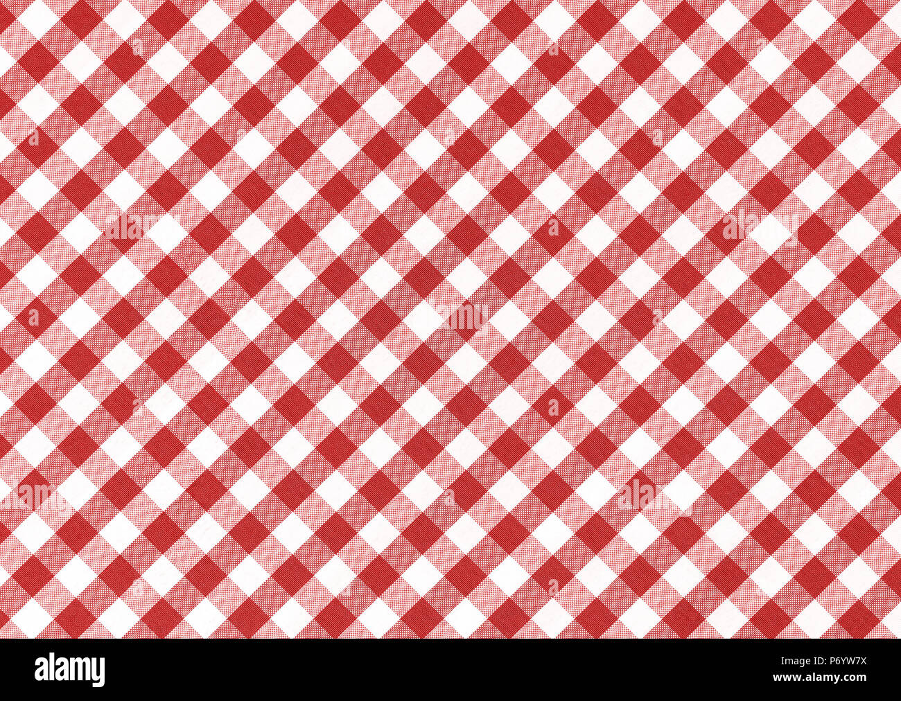 Beau Red Checkered Tablecloth Background Stock Photo: 210824878 ...