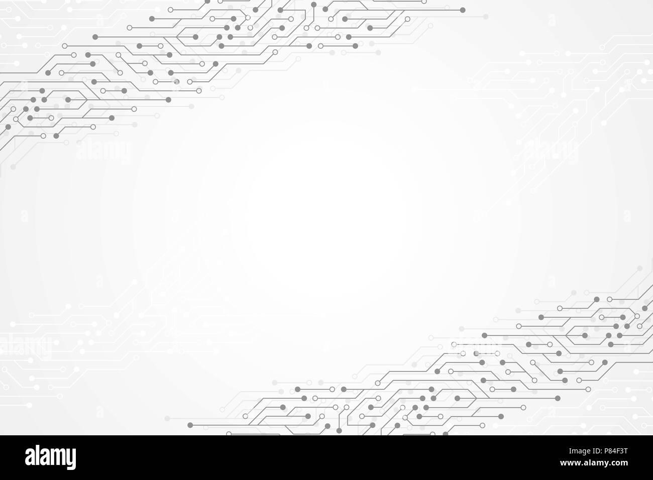 Circuito Eletronica : Resumo background tecnológico com textura placa de circuito. placa
