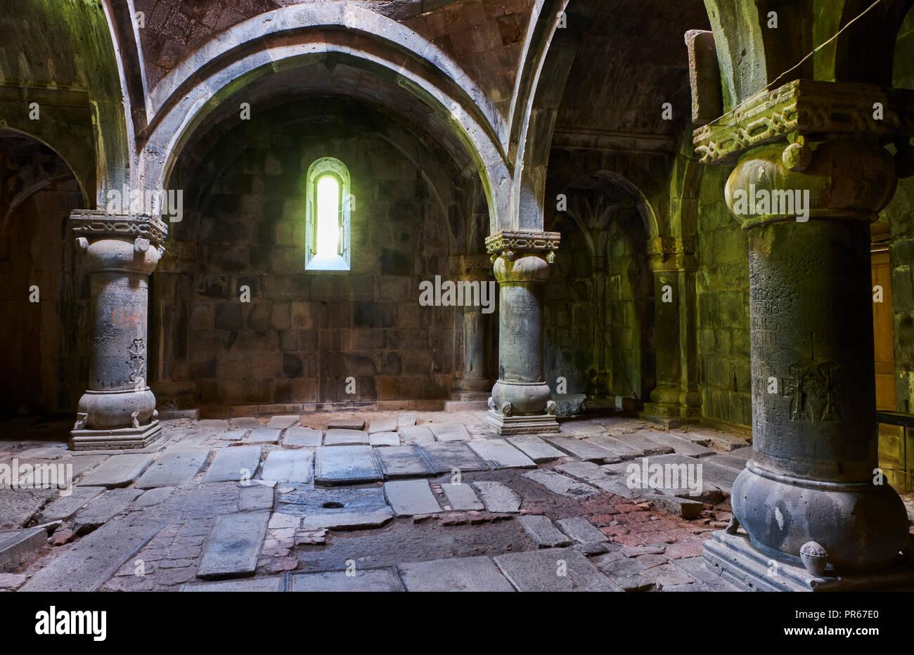 Arménia, Mori province, Sanahin igreja Imagens de Stock