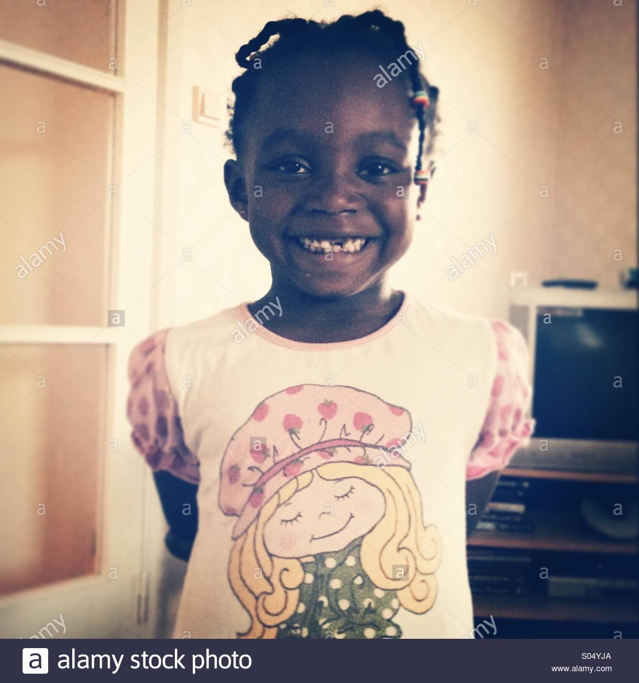 Criança feliz Imagens de Stock